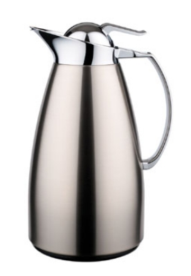 Service Ideas WJ10SSBS 1-liter Coffee Server w/ Stainless Interior, Brushed St