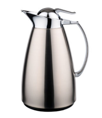 Service Ideas WJ7SSBS .7-liter Coffee Server w/ Stainless Interior, Brushed Stai