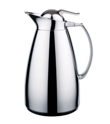 Service Ideas WJ7SSCH .7-liter Coffee Server w/ Stainless Interior, Chrome