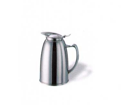 Service Ideas WP3CH 3-liter Pitcher w/ Double-Wall Insulation, Polished Stainless