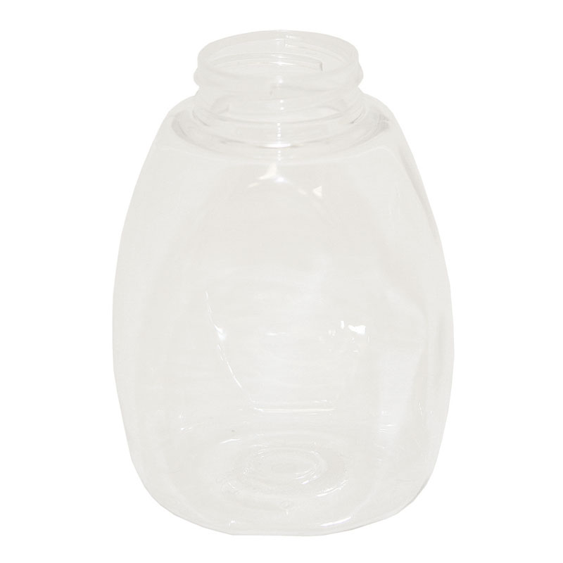 Service Ideas SRJ10CL 10-oz Syrup Dispenser, BPA Free, Clear