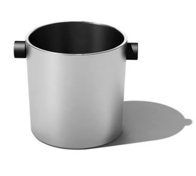 Service Ideas SB-3 2.4-qt Champagne Bucket w/ 7 x 7-in Base, Stainless, Brushed Finish