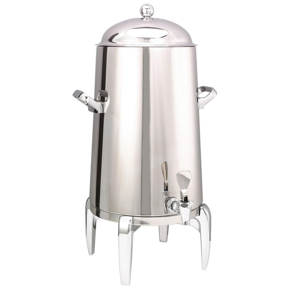 Service Ideas URN50VPS Vacuum Insulated Coffee Urn w/ 5-Gal Capacity, Chrome Acce