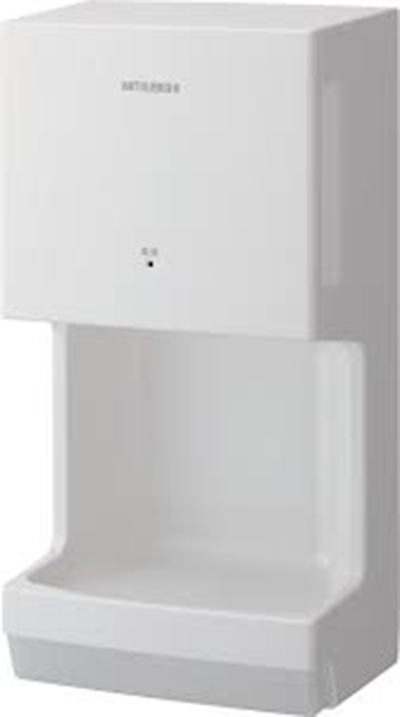 Mitsubishi JT-MC106G-W-NA Jet Towel Mini Hand Dryer - White