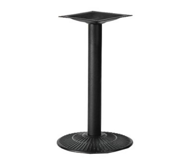 Waymar Industries 3017303 Table Base 17 in Diameter Base Spread 30 in Dining Height Sandtex Finish Restaurant Supply