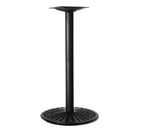 Waymar 7029423 Table Base, 3 in Column, 22 in x 29 in Oval Base Spread, 42 in Dining H