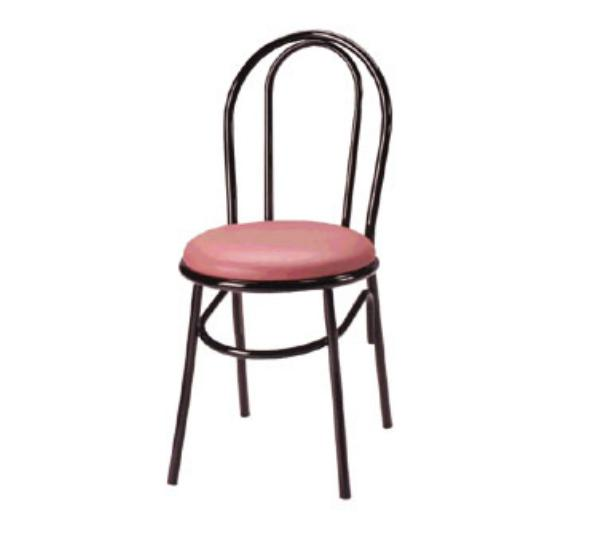 Waymar Industries C210 Parlor Side Chair Metal Open Hairpin Back 1-1/2in Upholstered Seat Restaurant Supply