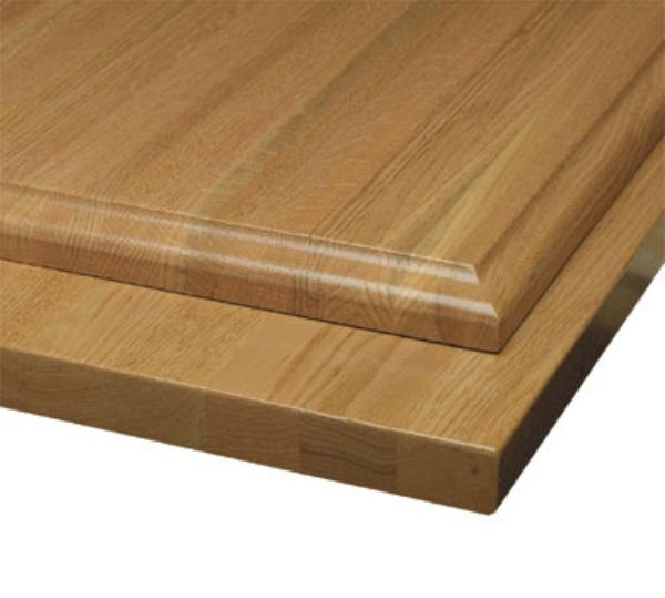 Waymar Industries SO01BB3060 Tabletop 30 in x 60 in 1-1/2 in Thick Solid Oak Butcherblock Restaurant Supply