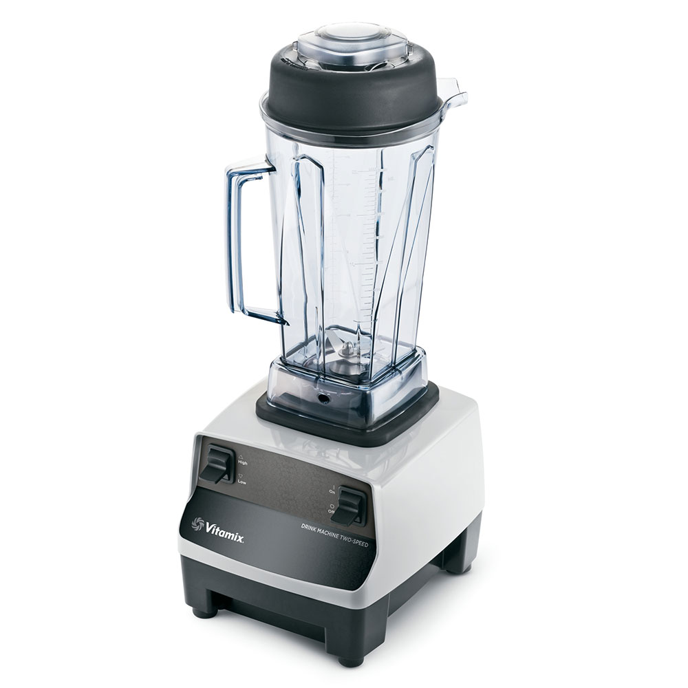 Vitamix 5006 Drink Machine, 48 oz., 2 Step Timer, Gray Base, 2 HP, 120V