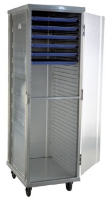 Carter-Hoffmann E8639 Enclosed Cabinet w/ Hinged Doors, Extruded Side Panels, 39-Trays