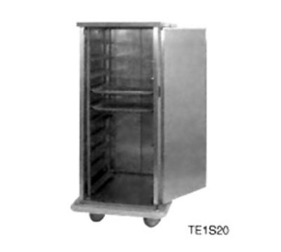 Carter-Hoffmann PSDTT16 Patient Tray Cart - (2) Trays/Slide, 1-Door, (16) Tray Capacity