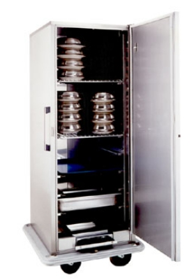 Carter-Hoffmann BB1824 Heated Space-Saver Banquet Cabinet, 24-Plate Capacity, Stainless