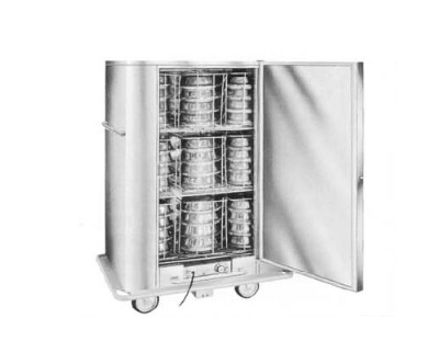 Carter-Hoffmann BB72 Heated Banquet Cabinet w/ 90-Plate Capacity, Stainless