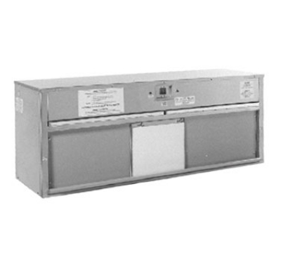 Carter-Hoffmann HP65 65-in Plate Warmer w/ Removable Grease Filters, Flip-Up Door