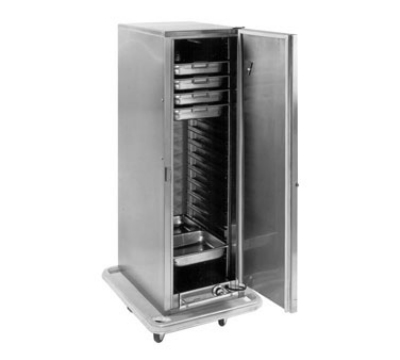 Carter-Hoffmann PH1200 Mobile Heated Cabinet w/ Removable Slides, 16-Pans, 1-Door