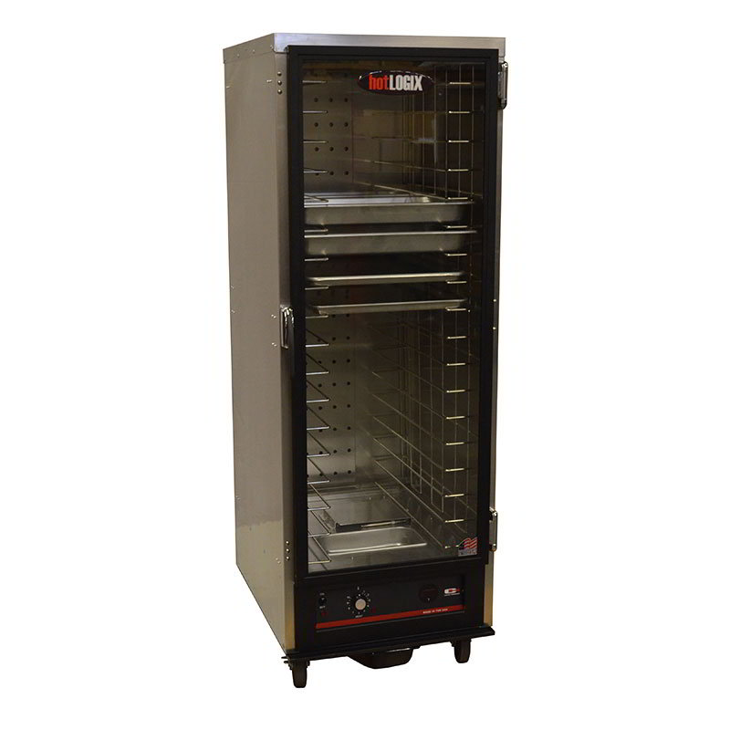 "Carter-Hoffmann HL1-18 Heated Holding Cabinet - Holds (18) 18x26"" Pans, Aluminum"