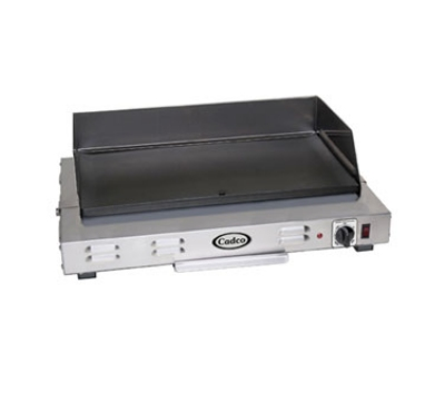 Cadco CG-20 24.5-in Griddle w/ Non-Stick Cooking Surface, Even H