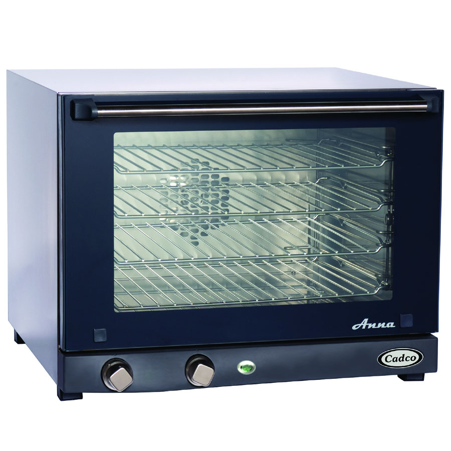 Cadco OV023 Half-Size Countertop Convection Oven w/ Manual Control, 4-Shelf, 120 V