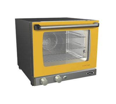 Cadco XAF103 LineChef Cristina Convection Oven, 1/4 Size, .92 cu ft, Manual, 120V