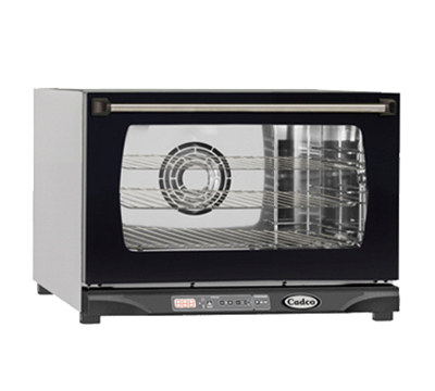 Cadco XAF111 Half-Size Countertop Convection Oven, 120v/1ph