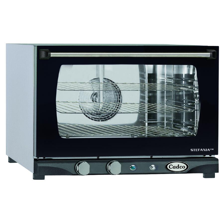 Cadco XAF113 Half-Size Countertop Convection Oven, 120v/1ph