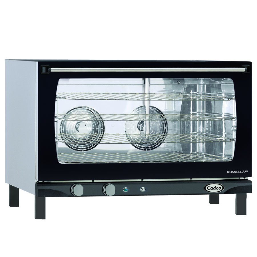 Cadco XAF193 Full Size Countertop Convection Oven - Holds (4) Full Size Sheet Pans, 3.85-cu ft