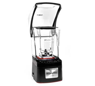 Blendtec STEALTHWS-CQB1 Countertop Blender Package w/ 2-WildSide Jars & 42-Cycles, USB Port