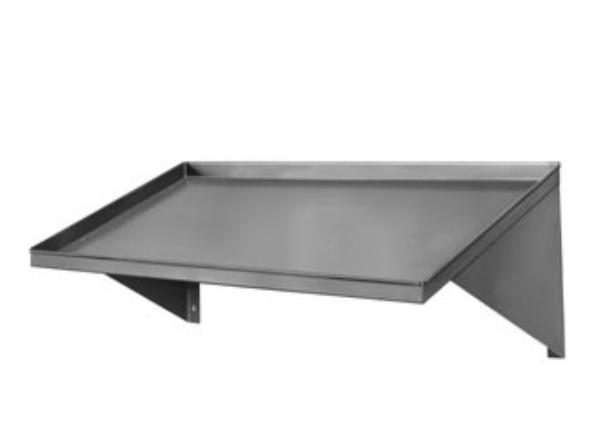 Cma 42 In Slanted Rack Shelf Stainless Steel
