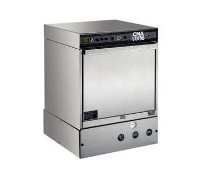 CMA L-1X16 Undercounter Dishwasher, Low Temp, 30 Racks/Hr, 16 in H Door Opening