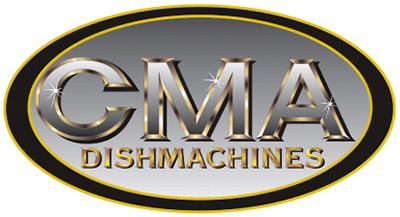 CMA B-ESW/BOWL 44-in Top Mount Dishwasher w/ 2-Rack & Solid Powder Bowl, 80-Rack per Hour