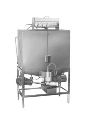 CMA S-B Low Temp Door Type Pot/Pan Dishwasher, Double Rack, 40-Racks/Hr