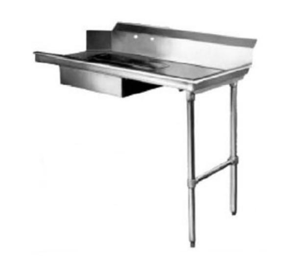 CMA SR-60 60-in Straight Soiled Dishtable, Machin