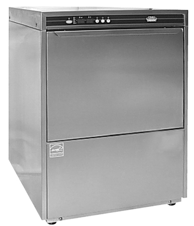 CMA UC60E Dishwasher w/ Built-In Booster Heater & 13.75-in Door Opening, Stainless