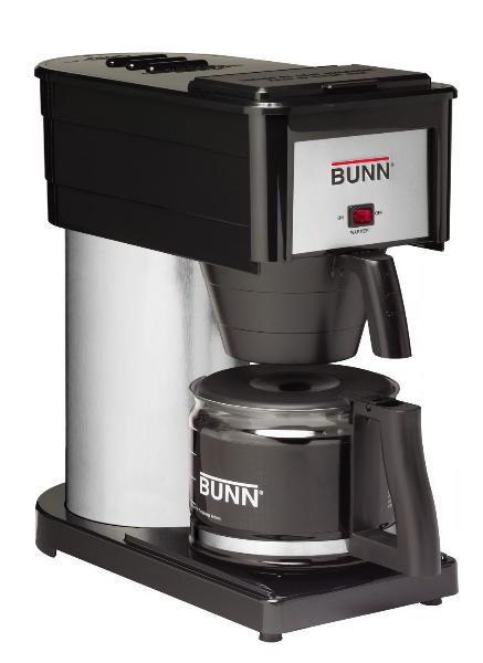 BUNN-O-Matic Residential 38300.0045 BX Classic Home Brewer, 10 Cup, Decanter Included, Black