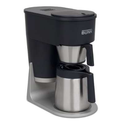 BUNN-O-Matic Residential 40600.0100 ST Brewer, 10 Cup Vacuum Insulated Carafe, Gourmet Sprayhead