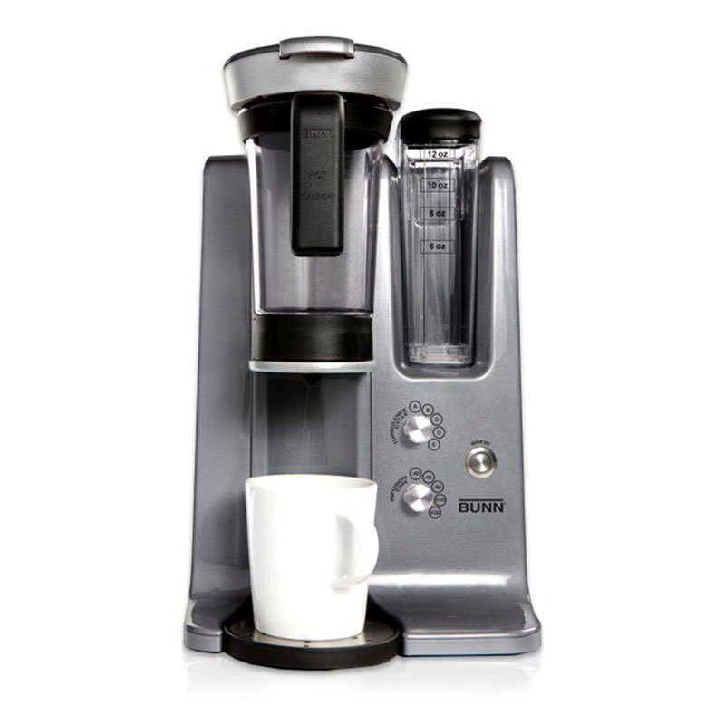 BUNN-O-Matic Residential 43300.0000 trifecta MB Brewer w/ Adjustable Turbulence Cycles & 25-Brew Settings, Stainless