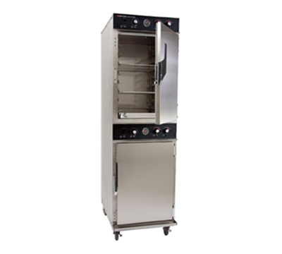 Cres Cor 1000-CH-AL-2D 2083 Mobile Cook Hold Oven Cabinet w/ 16-Pan Capacity, 208/3v