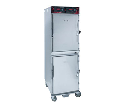Cres Cor 1000-CH-SS-2D 2083 Mobile Cook Hold Cabinet w/ 16-Pan Capacity & Stainless Exterior, 208/3v