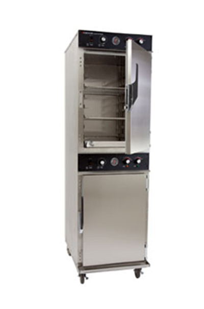 Cres Cor 1000-CH-SS-D 2081 Mobile Cook Hold Cabinet w/ 16-Pan Capacity & Stainless Exterior, LED, 208/1 V