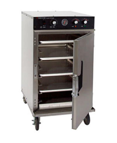 Cres Cor 1000-CH-SS-D-SPL2083 Mobile Cook Hold Cabinet w/ 8-Pan Capacity & Stainless Exterior, LED, 208/3 V