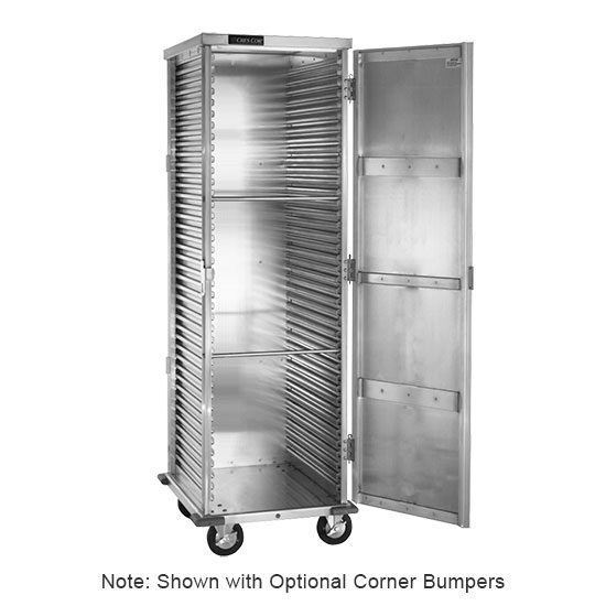 Cres Cor 100-1841-DSD Super Duty Mobile Cabinet w/ 39-Pan Capacity, Full Height, Aluminum