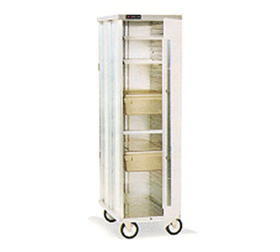 Cres Cor 150-1838-DZ Mobile Enclosed Correctional Cabinet w/ 38-Pan Capacity,