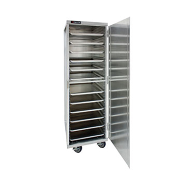 Cres Cor 150-1840E Mobile Enclosed Cabinet w/ 38-Pan Capacity, Full Height, Aluminum
