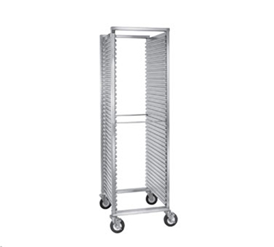 Cres Cor 200-1841A Mobile Utility Rack w/ 39-Pan Capacity, Full Height, Aluminum