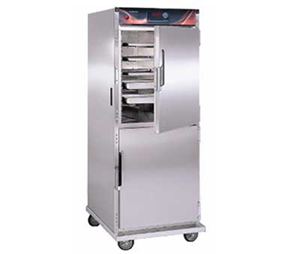 Cres Cor H-137-SUA-12D 1201 Mobile Heated Cabinet w/ 12-Chrome Slides, Stainless, 2000-watts, 12