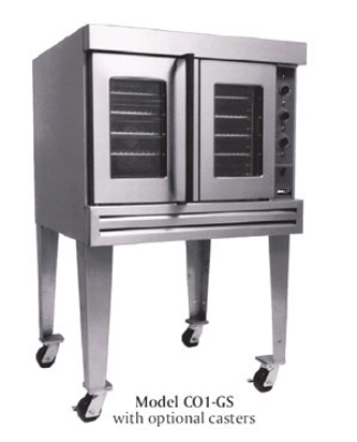 BKI CO1-GS LP Full Size Gas Convection Oven - LP