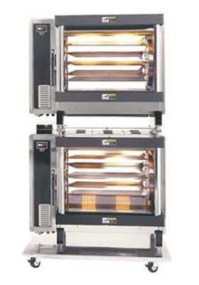 BKI DR-34/2 Electric 5-Spit Commercial Rotisserie, 208v/3ph