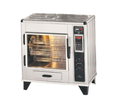 BKI FS 120 Countertop Rotisserie Oven w/ (9) 3-lb Chicken Capacity, Touch Screen 120 V