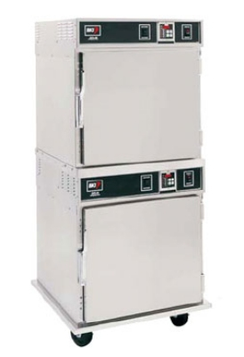 BKI GO-36/2 Mobile Cook & Hold Oven w/ Touchpad Control, Stacked, Right-Hinged 208/240/1 V
