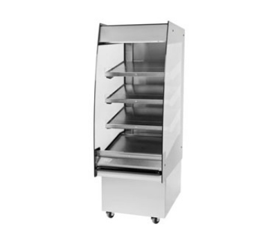 BKI HSS2-4T 230 24-in Hot Self Serve Merchandiser, Marine Edge & (4) Slanted Tall Shelf, 230/1 V